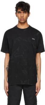 ADER error Black Dafiant T-Shirt