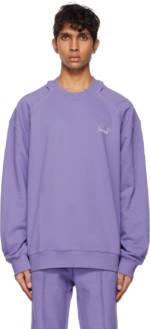 ADER error Purple Kaput Sweatshirt
