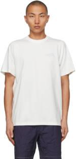 ADER error White Bonded Logo T-Shirt