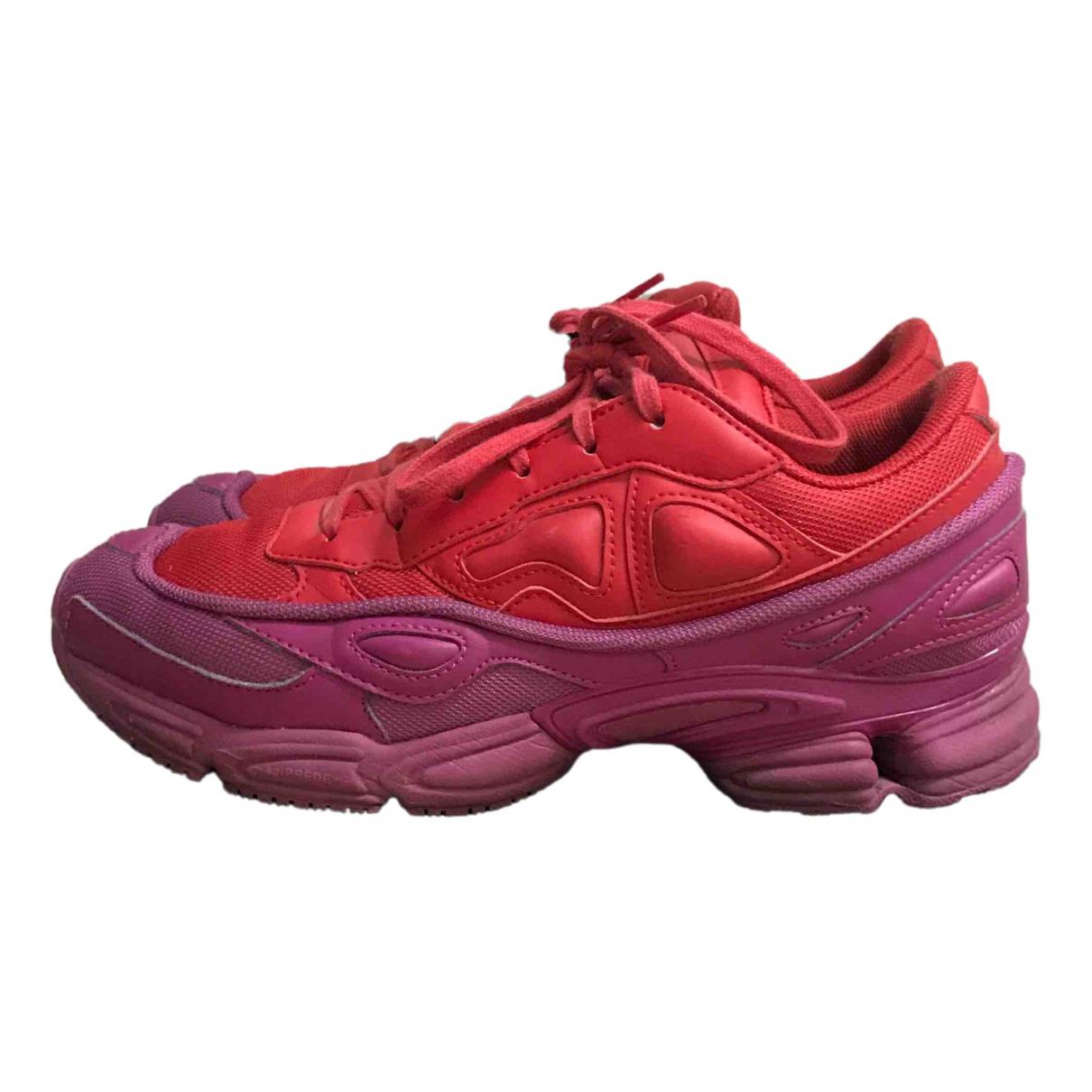 Adidas x Raf Simons Ozweego 2 leather low trainers