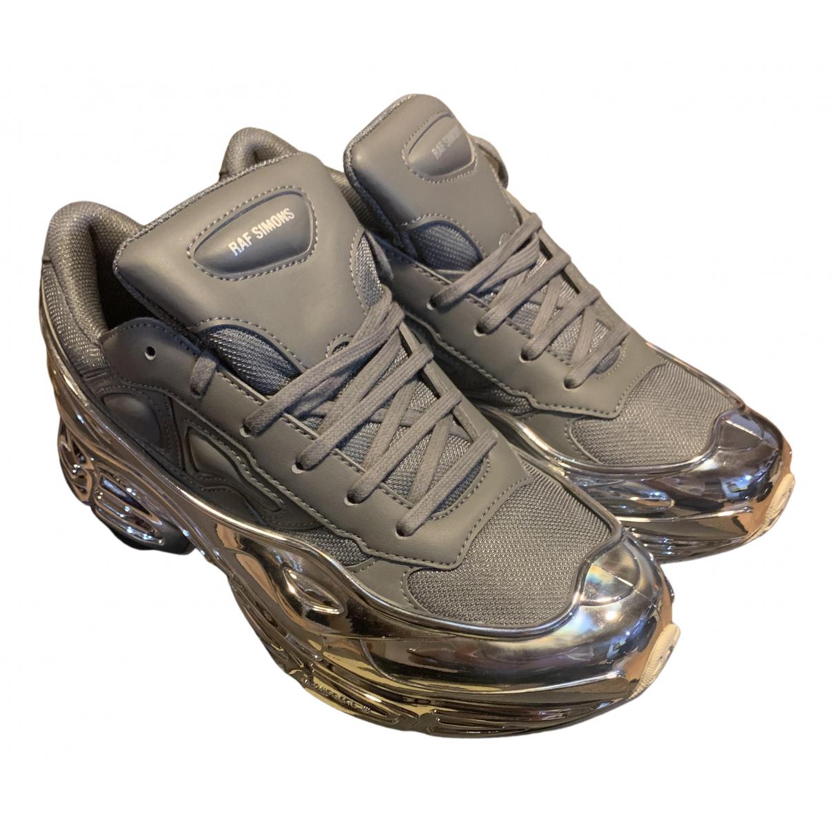 Adidas x Raf Simons RS Ozweego leather low trainers