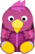 Affenzahn, Rucksack Großer Freund Vogel in dunkellila, Kinderaccessoires für Mädchen