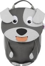 Affenzahn, Rucksack Kleiner Freund Hund in dunkelgrau, Kinderaccessoires für Mädchen