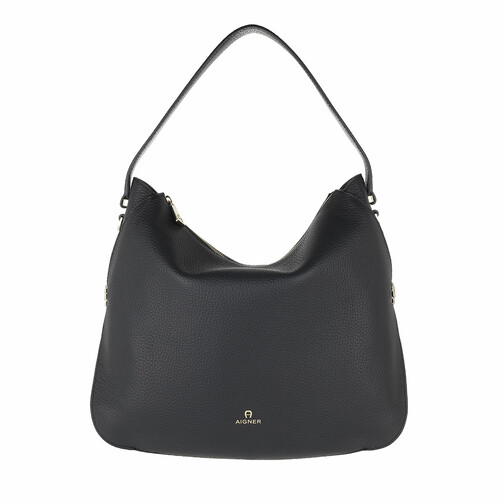 Aigner Hobo Bag - Milano Handle Bag - in schwarz - für Damen