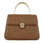 Aigner Satchel Bag - Genoveva Handle Bag - in braun - für Damen