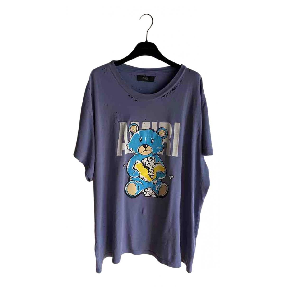 Amiri Purple Cotton T-shirt