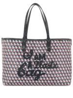 Anya Hindmarch Kleine 'I Am A Plastic Bag' Handtasche - Blau