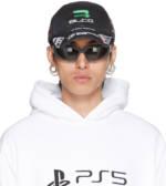 Balenciaga Black Gamer Cap