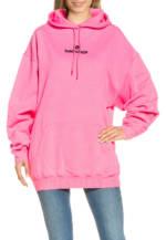 Balenciaga Long-Hoodie rosa