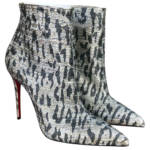 Christian Louboutin So Kate Booty leather biker boots