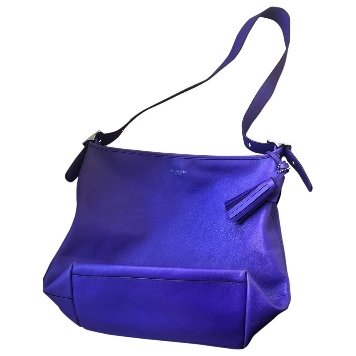 Coach Edie leather crossbody bag