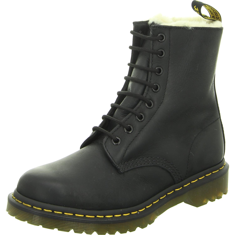 Damen Dr. Martens Chelsea Boot schwarz black burnshed Wyoming 36