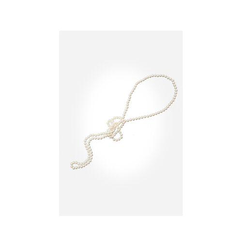 Edelnice Perlenkette, weiß, --