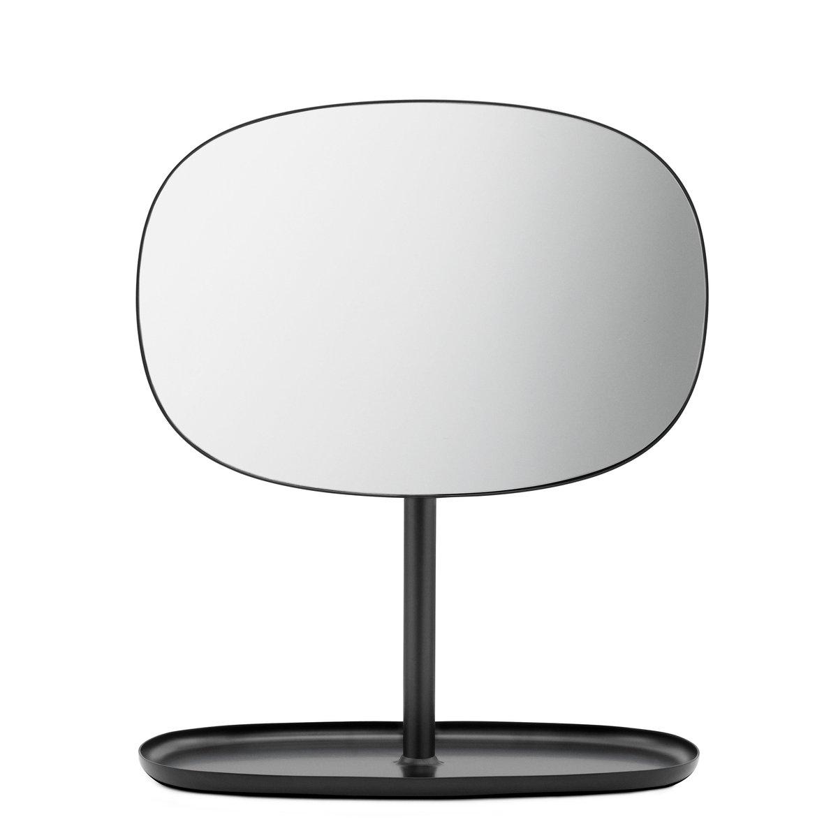 Flip Spiegel schwarz