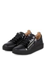 Giuseppe Zanotti Design Plateau-Sneaker schwarz