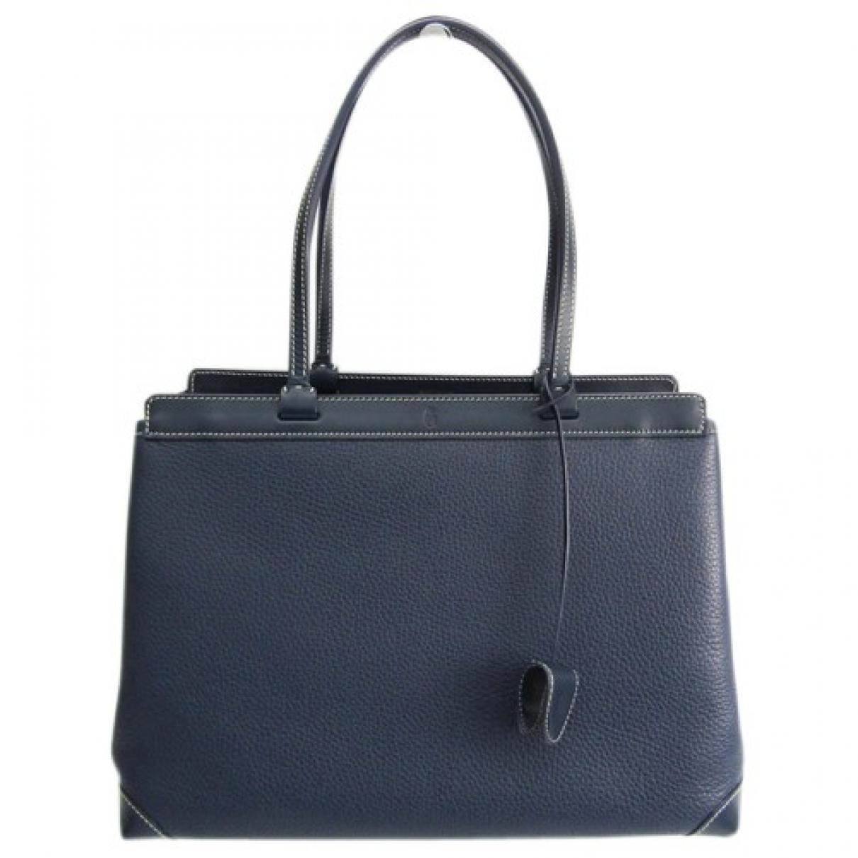 Goyard Bellechasse leather handbag