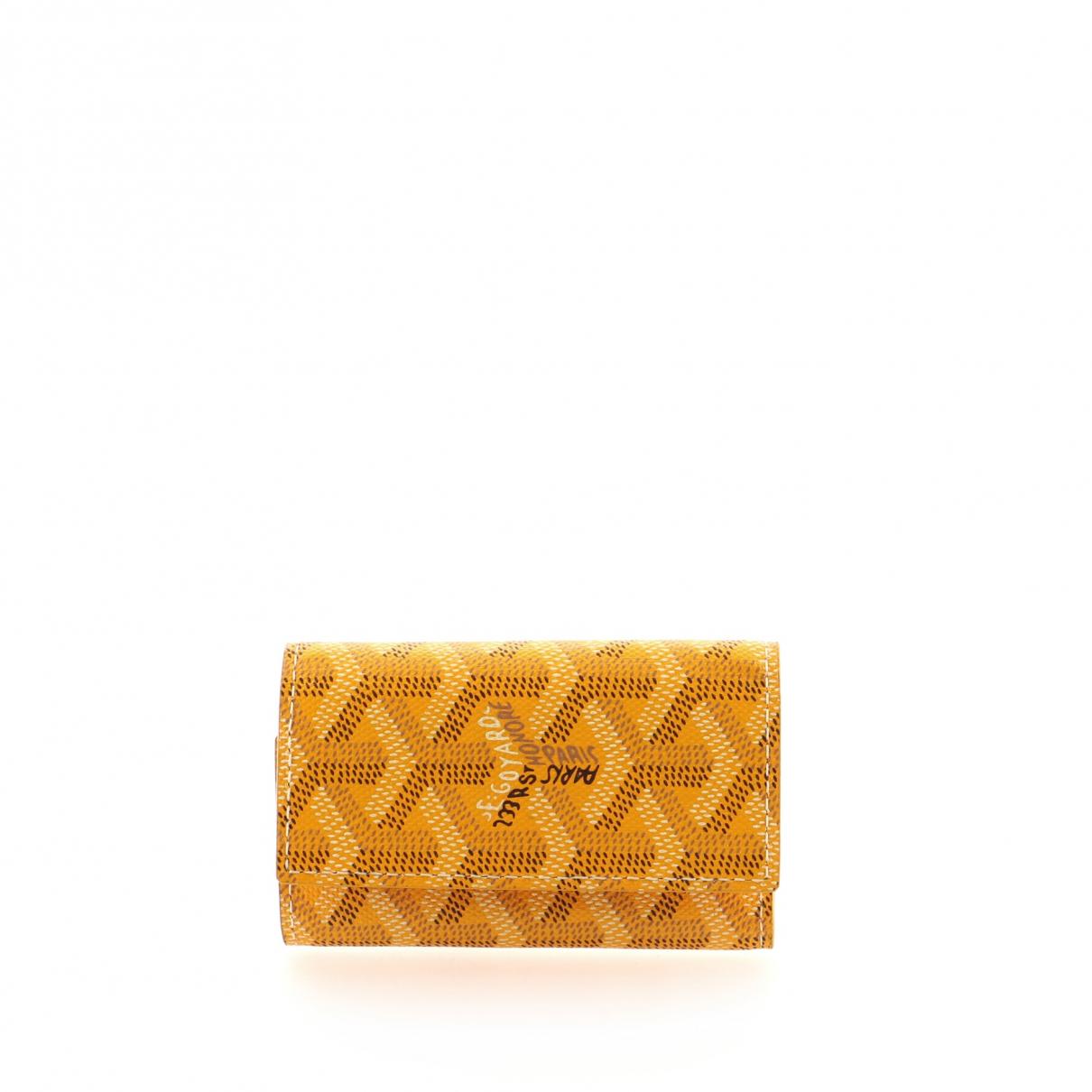 Goyard Leather key ring