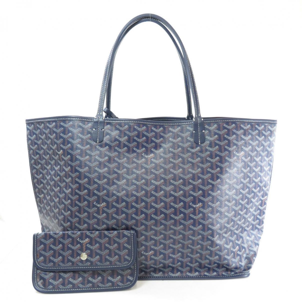 Goyard Saint-Louis leather handbag