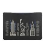 Laptoptaschen 16 Inch Laptop Sleeve In Smooth Leather With Stard schwarz