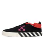 Off-White Vulc Low Top Sneaker Black Violet (2020)