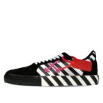 Off-White Vulc Low Top Sneaker Stripe Black Violet (2020)