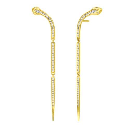 Ohrringe Boa Chandelier Earrings gold