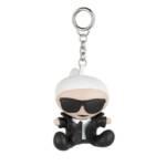 Schlüsselanhänger K/Ikonik Karl Doll Keychain schwarz