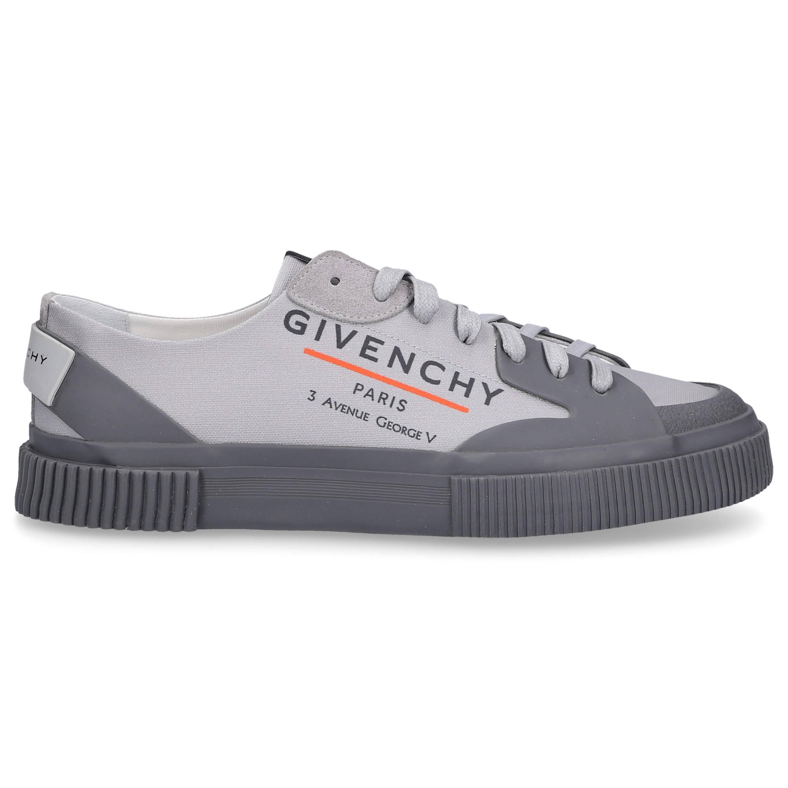 Sneaker low TENNIS LIGHT LOW Canvas Logo grau-kombi