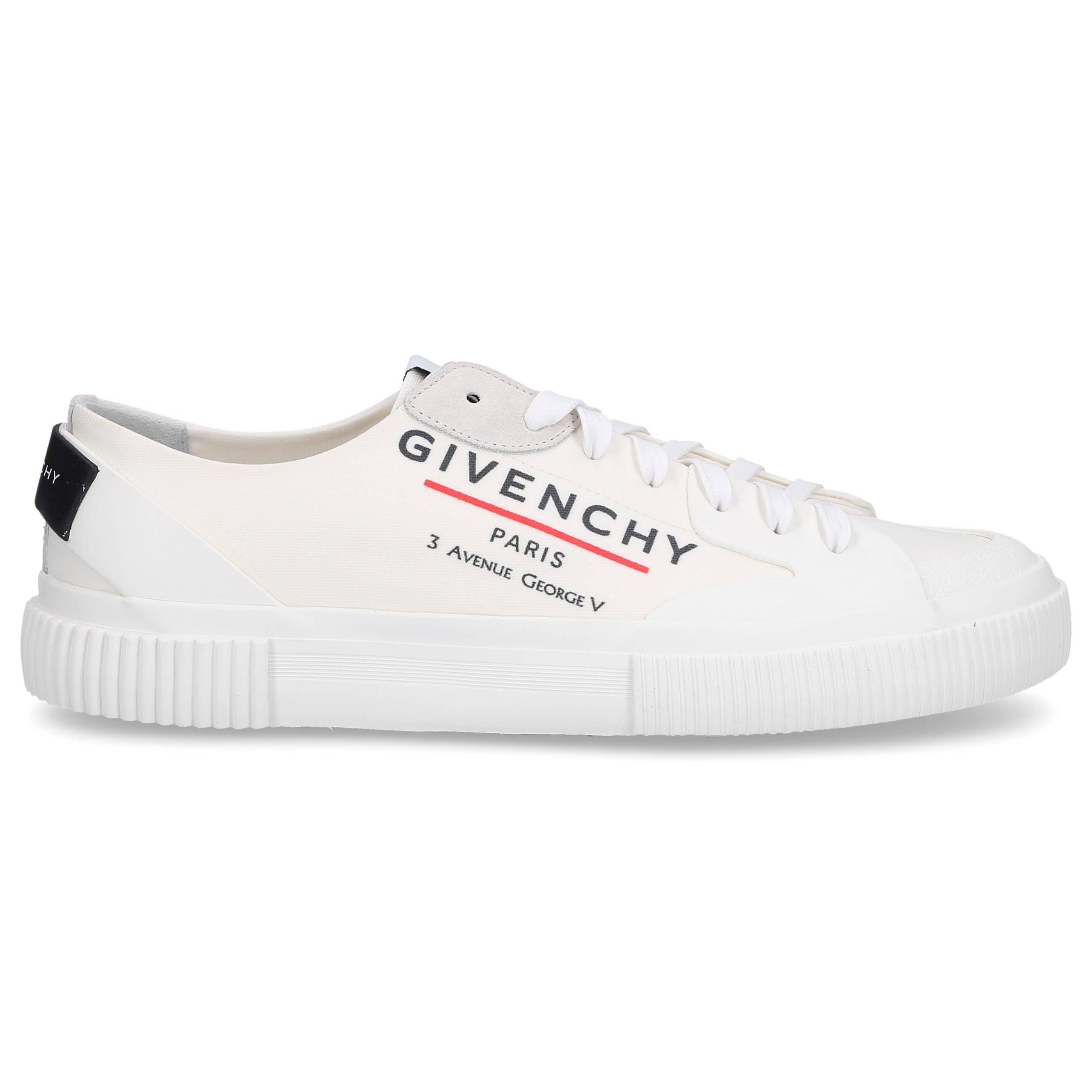 Sneaker low TENNIS LIGHT LOW Denim Logo weiß-kombi