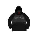 Supreme Court Halfzip Pullover Black (SS18)