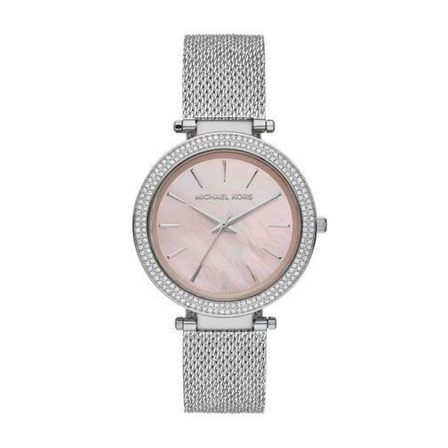 Uhr Darci Leather Watch silber