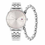 Uhr Ladies gift set 3 Tea Watch Casual Bracelet silber
