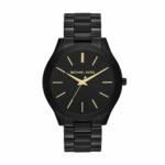 Uhr MK3221 Slim Runway Ladies Watch schwarz