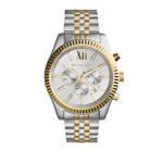 Uhr MK8344 Lexington Watch silber