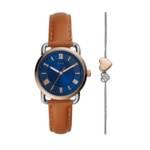 Uhr Set Copeland Watch and Bracelet braun