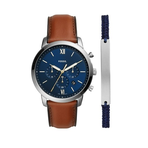 Uhren Set Neutra Watch and Bracelet Men braun