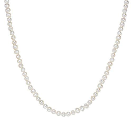 Valero Pearls Perlenkette Süßwasser-Zuchtperle, weiß, 120.0 cm