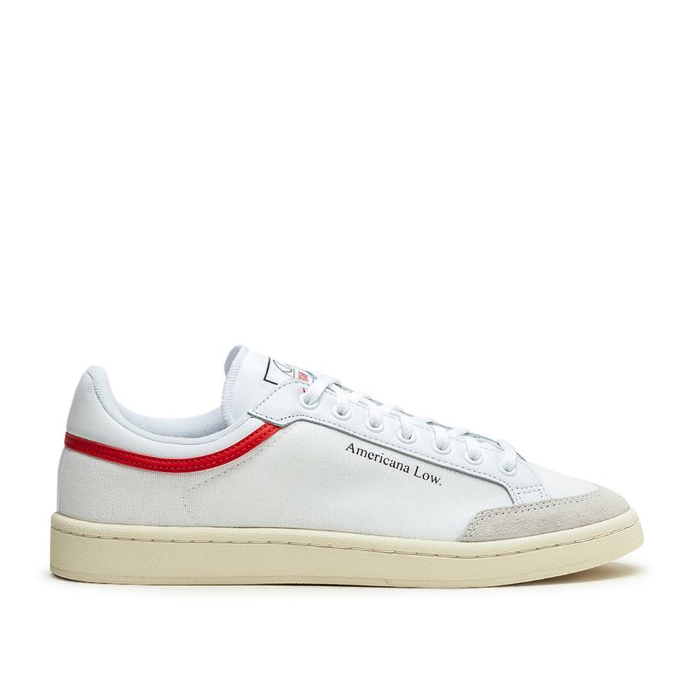 adidas Americana Low (Weiß / Rot)