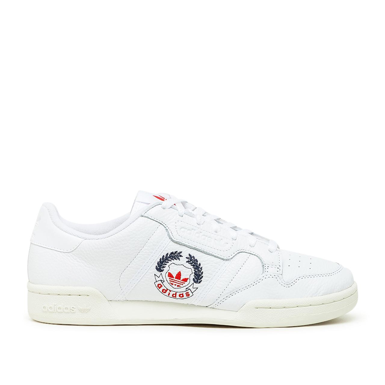 adidas Continental 80 (Weiß / Rot)