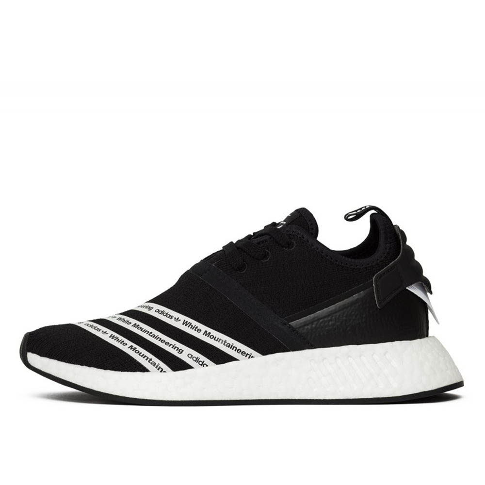 adidas NMD R2 White Mountaineering Black