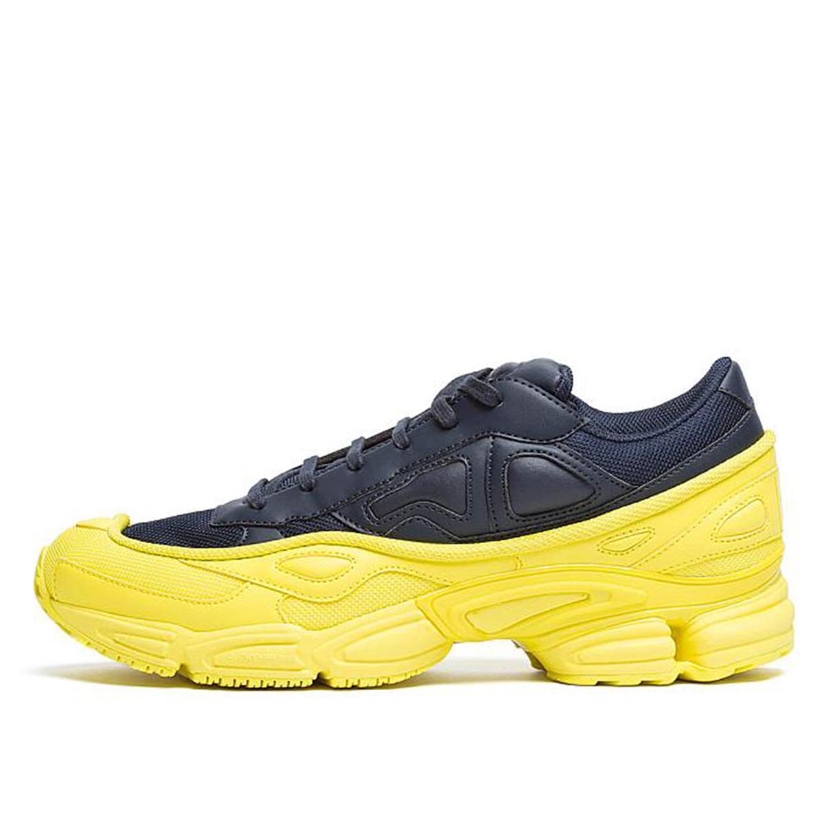 adidas x Raf Simons Ozweego Bright Yellow Night Navy