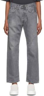 Acne Studios Grey Loose Fit Jeans