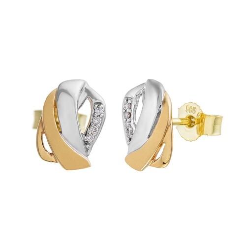 BELORO Ohrringe - Earring Diamonds - in bunt - für Damen