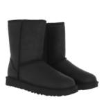 Boots & Stiefeletten W Classic Short Leather schwarz