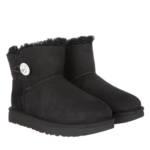 Boots & Stiefeletten W Mini Bailey Button Bling schwarz