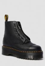 DR. Martens Plateau-Boots Sinclair, Leder, 4 cm schwarz