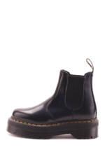 DR. Martens Plateau-Chelsea-Boots Quad, Leder, 4 cm schwarz