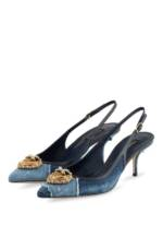 Dolce&Gabbana Slingpumps blau