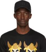 Dsquared2 Black 'Icon' Baseball Cap
