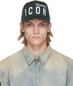 Dsquared2 Green Be 'Icon' Cap